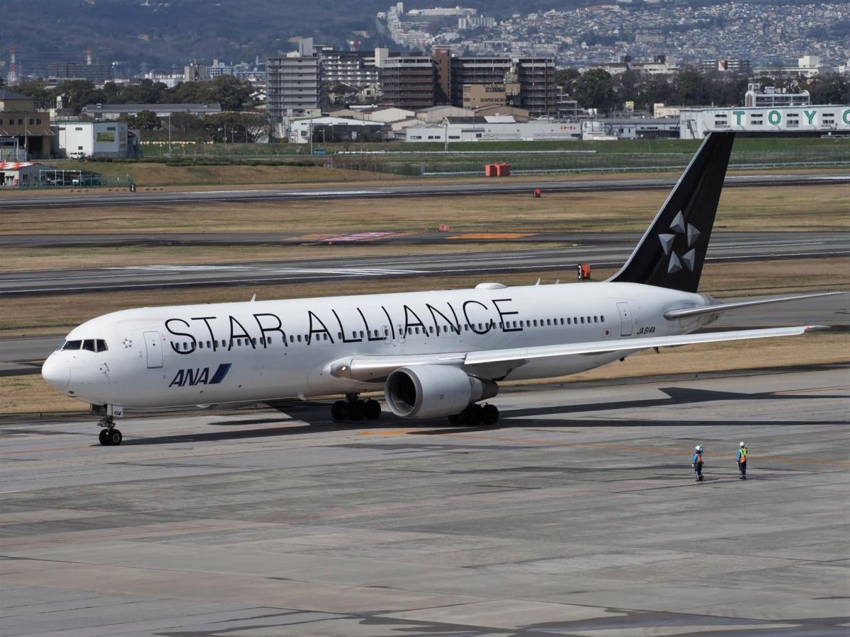 ANAスターアライアンス塗装767