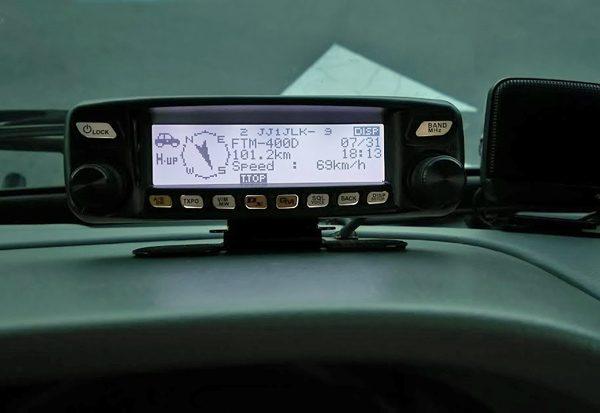 ヤエスFTM-100DでAPRS