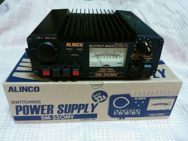 ALINCO無線機器用スイッチング式安定化電源DM-330MV