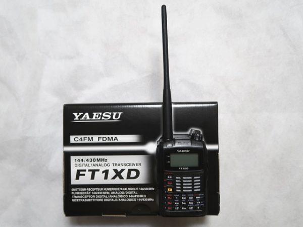 八重洲無線のハンディ機FT1XDを購入