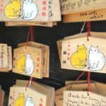 鹿児島市仙厳園、猫神のネコ絵馬
