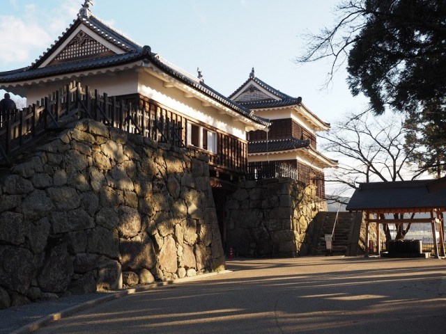 上田城東虎口櫓門、北櫓