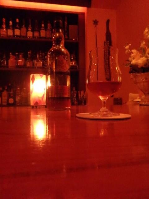 浦和のバーで結婚20周年